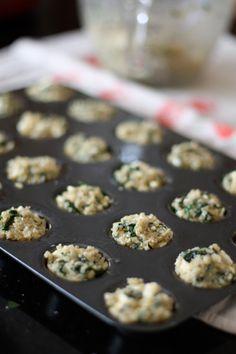 Spinach and Feta Quinoa Bites | www.aggieskitchen.com