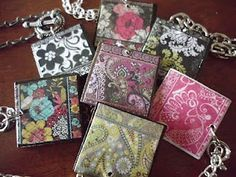 Cute idea using fabric samples!