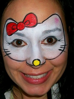 sminken face paint on pinterest face paintings easy face painting and princesses. Black Bedroom Furniture Sets. Home Design Ideas