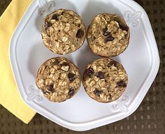 Banana Chocolate Chip Baked Oatmeal Singles - 3 WW P+ each!