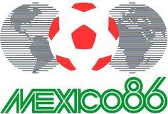 Logo Officiel de la Coupe du Monde de 1986 au Mexique !