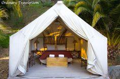 El Capitan Canyon Safari Tent