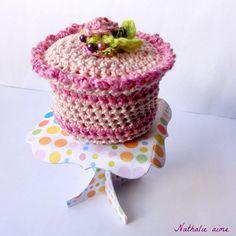 Nathalie M: De seriële crocheteuses # 157 - dessert haak