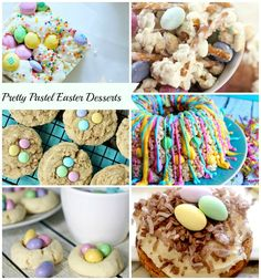 Pretty Pastel Easter Desserts | The NY Melrose Family