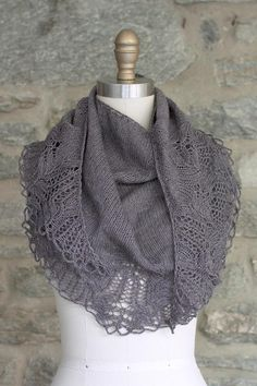 Wrap yourself in silky elegance with the Trufa shawl. Made from just two supple skeins of Manos Serena, this shawl works up quickly and beautifully, making it a perfect gift for any time of year. Yarn and pattern included!