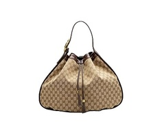 Gucci GG Twins Medium Tote Bags 232957 Brown [dl12076] - $198.49 : Gucci Outlet, Cheap Gucci online,Gucci UK