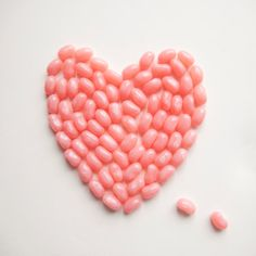 """""""You can tell a lot about a fellow's character by his way of eating jellybeans. """"  ― Ronald Reagan  Jelly Beans. Pink, Valentines Day Gift  You are my Jelly Bean by Fedali on Etsy, $15.00"""