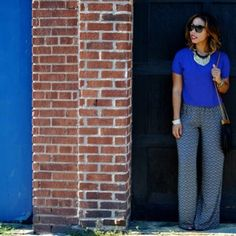 Who knew printed palazzo pants would be this easy to pull off... #maxxinista @tjmaxx