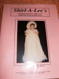 Embossed Flowered Baby Dress