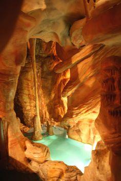 caverns dining area at Casa Bonita