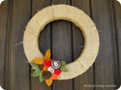 The Life of a Cheap Chickadee: A 20 Minute Interchangeable Holiday Wreath