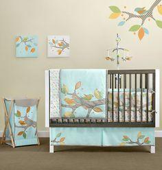 Cute modern crib bed