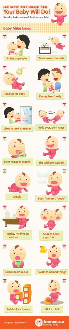 Amazing Things Your Baby Will Do