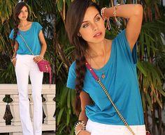 California Blue (by Annabelle Fleur) http://lookbook.nu/look/3707933-California-Blue