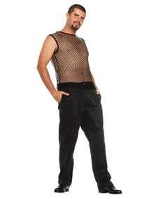 mesh black, hop top, black mesh, costum accessori, hop sleeveless, hip hop, men's costumes, sleeveless mesh, hop costum