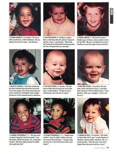 Child victims of the Oklahoma City Bombing.
