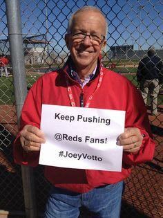 Marty wants YOU to keep voting. Joey Votto is in the finals for the #FaceOfMLB twitter competition. He is going against Matt Kemp for the championship round. Be sure to use the hashtag #JoeyVotto in all of your tweets this week! With your help we can make Joey the Face of MLB!