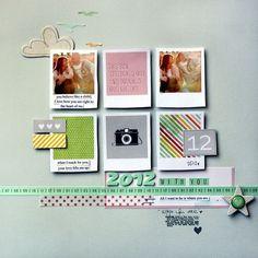 Polaroid & pastels