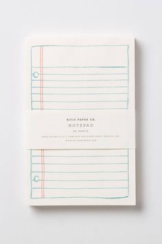 Notepad - Rifle Paper Co.