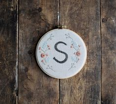 A hand-stitched housewarming gift. #etsy #etsyfinds