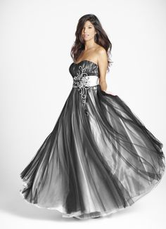 This is my masquerade dress