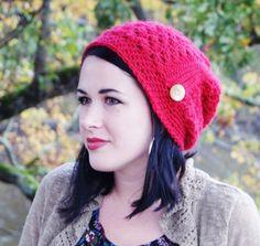 Crochet Pattern Stephanie Slouchy Beanie