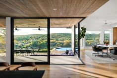 Photo 3 of 14 in A Home High Above Lake Austin Balances Perfect Views With a Wabi-Sabi Aesthetic - Dwell