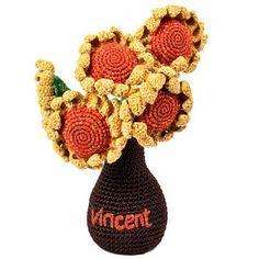 Crochet Vase Inspiration ❥ 4U // hf