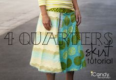 4 Quarters Skirt Tutorial