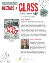 This teacher's guide for Blizzard of Glass: The Halifax Explosion of 1917 by Sally M. Walker contains Common Core aligned reading activities for grades 5-12. #tragedies #CanadianHistory #CCSS #reading #midleved #literature #nonfiction #history