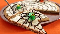 Spider Web Cookie Pizza Recipe
