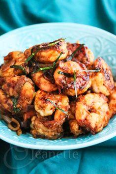 Stir-Fry Shrimp with Thai Roasted Chili Paste
