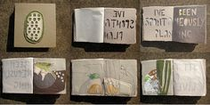Olivehill book from Alison Worman AWORMAN on flickr http://www.flickr.com/photos/alisonworman/5664555271/ http://alofthesun.blogspot.com/ #paper_crafting #book_art #art