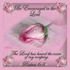 Psalms 6:8 Bible scripture verse. Faith encouragement spiritual inspiration.