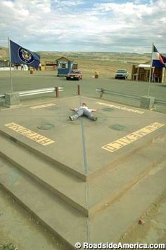 Four Corners utah, colorado, new mexico and arizona all at the same time lol
