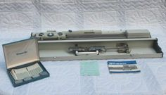 SUPER SPEED MODEL SH-700 COLOR ACE KNITTING MACHINE w/WISSPER-LITE PATTERN CARDS