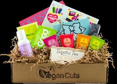 VeganCuts Beauty Boxes: $35+ worth of cruelty-free cosmetics delivered to your door each month!  #BeCrueltyFree