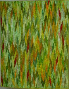 Nancy Neumann's green quilt
