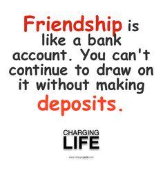 Friendships...