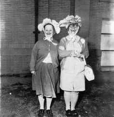 Untitled, Diane Arbus (1970-71).  Pretty hats, no?....RESIST PINTEREST CENSORSHIP.