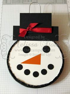jiffy pop snowman