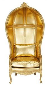 Gold Canopy Chair - IN STOCK and ready to ship at www.liv-chic.com! Comes in a variety of colors and finishes!!