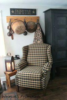 ★ homeprimit, wing chairs, primit decor, primit furnitur, primitive signs, primit sign, primcountri, primitive sitting room