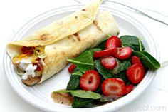 #ad Grilled Chicken Ranch Wrap - Low Carb Recipes #justaddthis #cbias maybe in corn tort. for GF