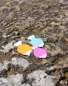 Lily Sugar n Cream - Tropical Fish Dishcloth (crochet) - free crochet pattern