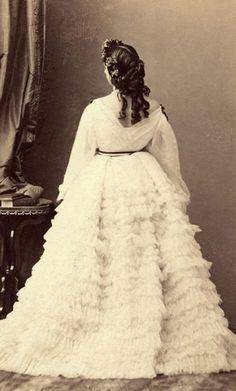 Photographie A.A.E. Disdéri. Vers 1860. Collection particulière.    Anna Deslion ou Deslions (1820-1873).