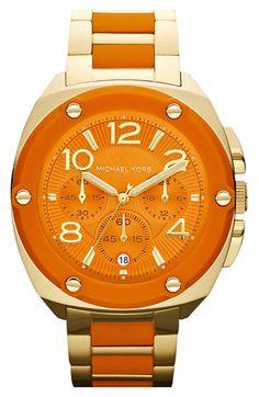 Michael Kors 'Tribeca' Chronograph Bracelet Watch