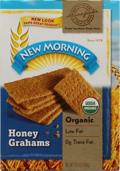 New Morning Organic Honey Grahams