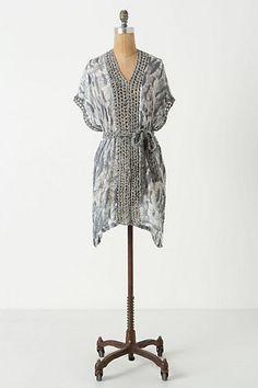 Grey Flashes Dress #anthropologie #ChenalShopping