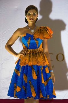 Be your dream night Vlisco Togo Designer: Henrio Fashion Fabric: Vlisco classic http://beyourdream.vlisco.com